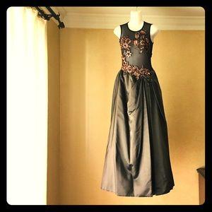 Jessica McClintock Taffeta Gown size 4